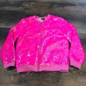 JoJo's Closet Sequined hoodie
